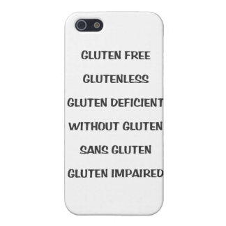 Gluten Challenged iPhone Case Case For iPhone 5/5S