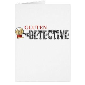 Gluten Detective Card