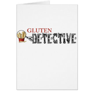 Gluten Detective Greeting Card