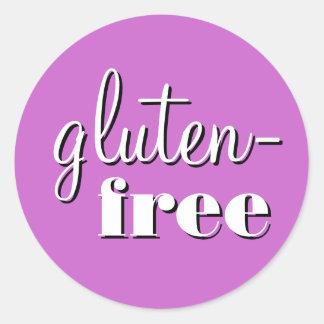Gluten Free Allergy Safe Culinary Label