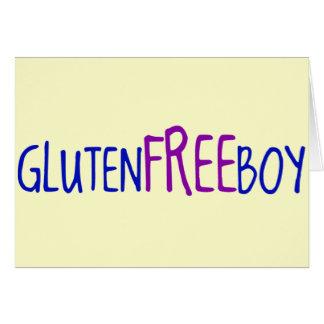 Gluten Free Boy Card