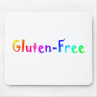 Gluten Free (Bright) Mouse Pad