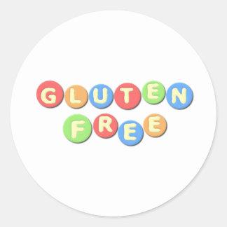 Gluten Free Celiac Round Sticker