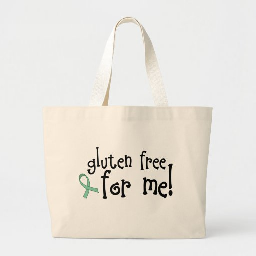 Gluten Free Celiac Totebag Jumbo Tote Bag