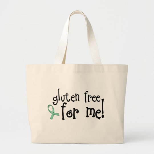 Gluten Free Celiac Totebag Large Tote Bag
