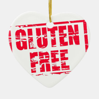 Gluten free christmas ornament