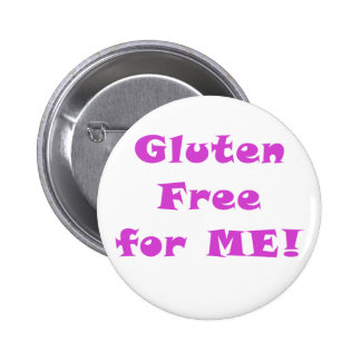 Gluten Free for Me 6 Cm Round Badge