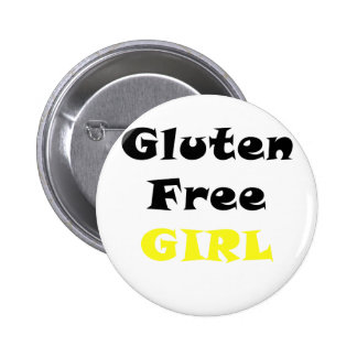Gluten Free Girl 6 Cm Round Badge