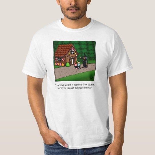 Gluten-Free Humour Tee Shirt