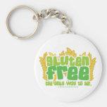 Gluten Free Key Chains