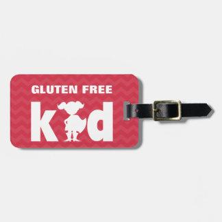 Gluten Free Kid Celiac Super Girl Tag