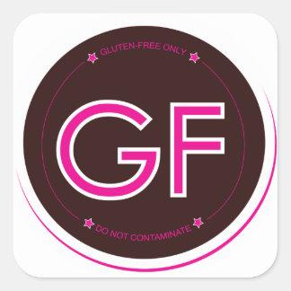 Gluten-Free Label (Square)