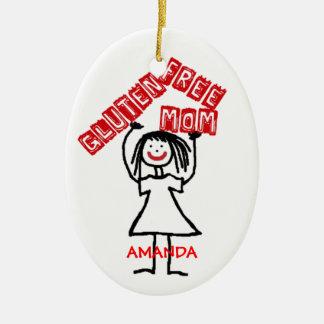Gluten Free Mom Christmas Christmas Ornament