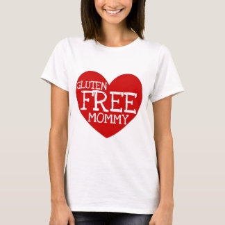 Gluten Free Mommy Heart T-Shirt