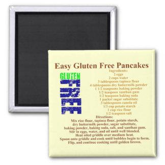 Gluten Free Pancake Recipe Refrigerator Magnet