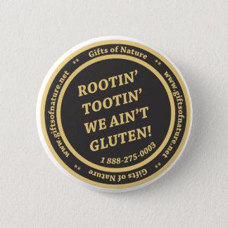 Gluten Free Slogan 6 Cm Round Badge