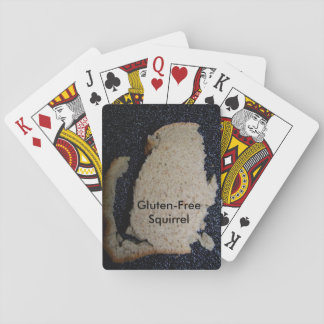 Gluten-Free Squirrel Playing Cards