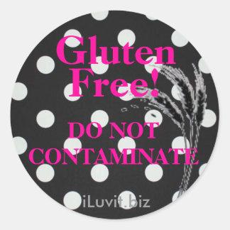 GLUTEN FREE Sticker  for Celiac Disease