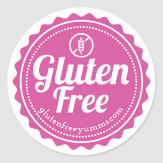 Gluten-Free Stickers — Gluten Free with Icon