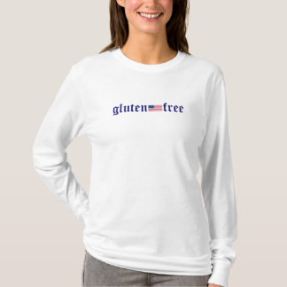gluten-free -  U.S. Flag Long Sleeve Tee