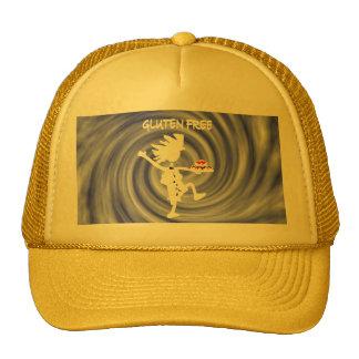 Gluten-Free Whimsy Silhouette Design Trucker Hat