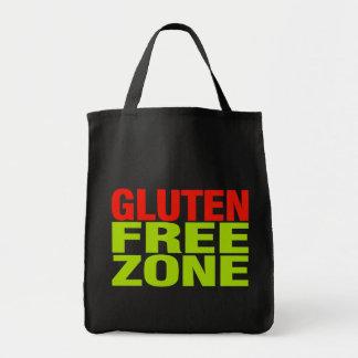 Gluten Free Zone (celiac disease) Grocery Tote Bag