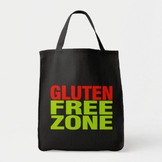 Gluten Free Zone (celiac disease) Tote Bag