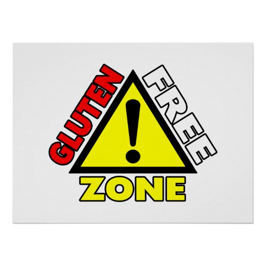 Gluten Free Zone (celiac disease - wheat allergy)