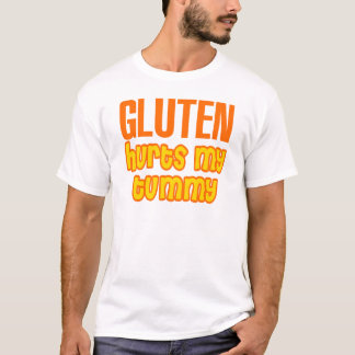 Gluten Hurts My Tummy T-Shirt