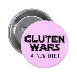 Gluten Wars: A New Diet Celiac Gluten Free 6 Cm Round Badge