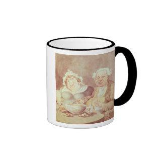 Gluttons, c.1800-05 ringer mug