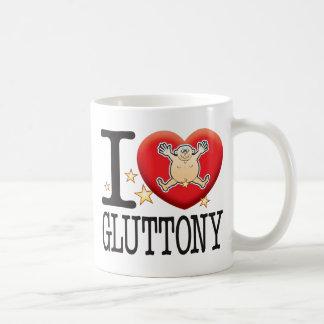 Gluttony Love Man Basic White Mug