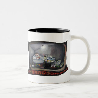 Gluttony one of the Seven Deadly sins Coffee Mug