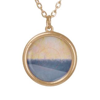 Glyndebourne 2000 round pendant necklace