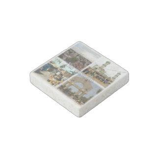 GM Gambia - Serekunda - Bundung Mosque - Stone Magnet