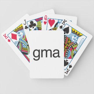 gma.ai bicycle poker deck