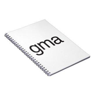 gma ai spiral note book