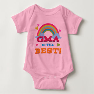 Gma Is the Best Baby Bodysuit
