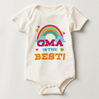 Gma Is the Best Baby Bodysuits