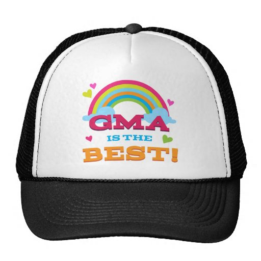 Gma Is the Best Mesh Hat