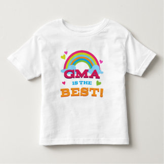 Gma Is the Best Toddler T-Shirt