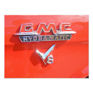 GMC Hydra-matic Emblem Photograph