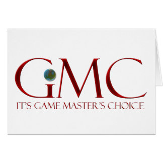 GMC - It's Game Master's Choice Greeting Card