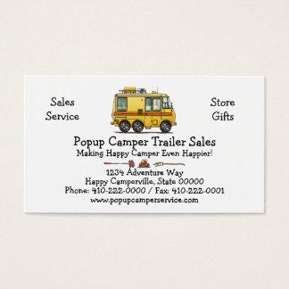 GMC Motor Home RV Business Card