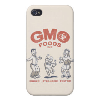 GMO Foods Covers For iPhone 4