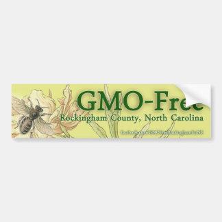 GMO-Free Rockingham County, NC Bumper Sticker