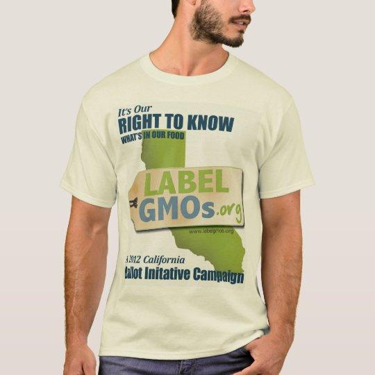 GMO-Free Santa Cruz, GMOs Untested, Unlabeled T-Shirt