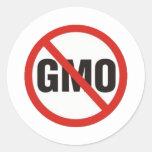 GMO Free Sticker