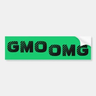 GMO OMG Bumper Sticker