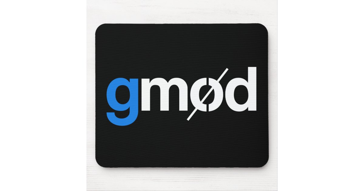 Gmod Logo Gaming Mouse Pad Zazzle Co Uk